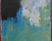 abstract original painting mixed media