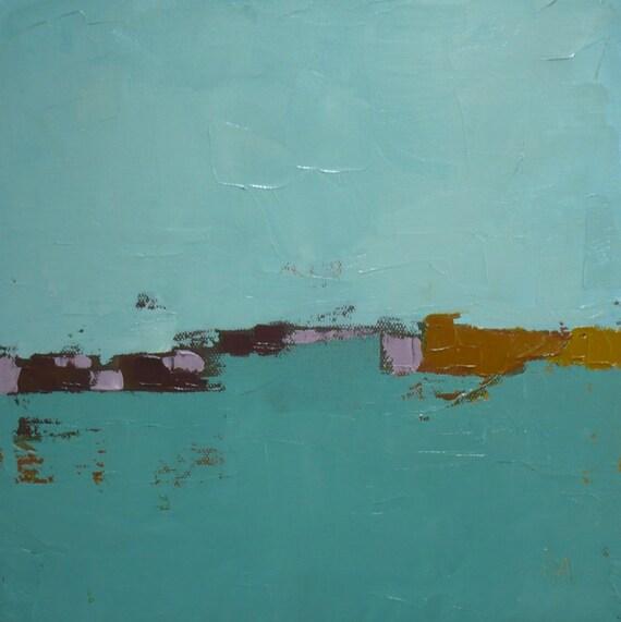 modern art Abstract landscape original oil painting painter