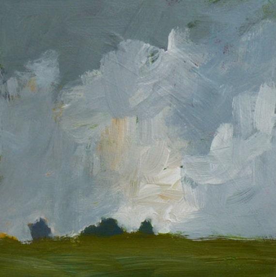 original small landscape storm clouds