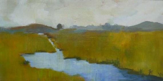 original landscape painting water