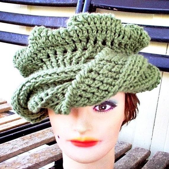 Head Wrap Hat Green