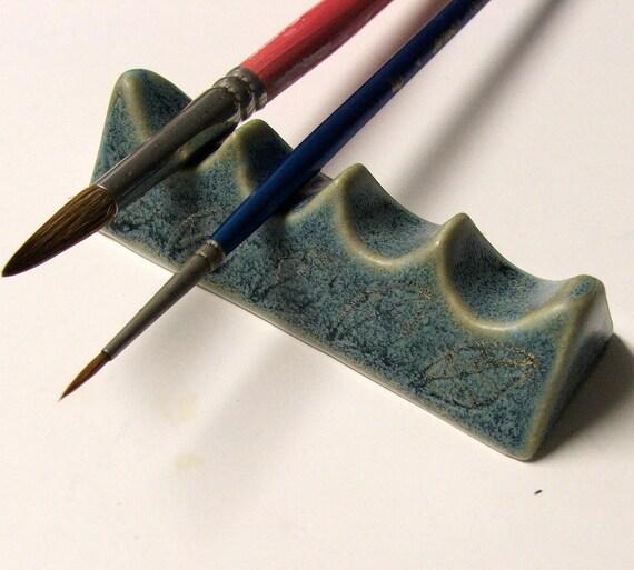 Porcelain Artist Brush Rest