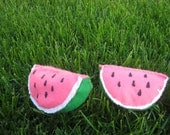 Set of 2 Juicy and Sweet Watermelons--Childrens Garden Fresh Collection