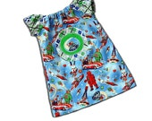 SALE 15% OFF Shop Closing SPACE Patrol Robot Girl - Awesome Cosmic Dress for Baby or Toddler