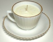 Upcycled Tea Cup Soy Candle
