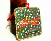 Beer Coaster Christmas Ornament