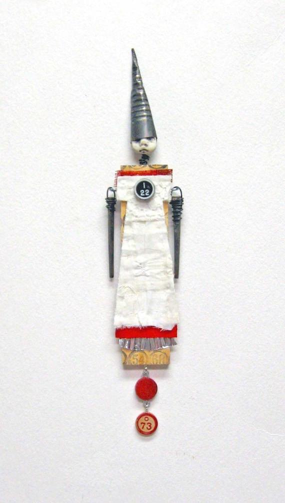 Mixed Media Art Doll I-22