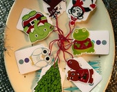 holly jolly gift tags (set of 7)