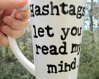16 oz ceramic mug personalized with your words text style fun