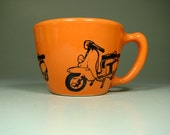 12oz cup lambretta - Made to Order / Pick Your Colour