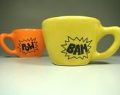 12oz cup BAM (lemon butter) - Made to Order / Pick Your Colour