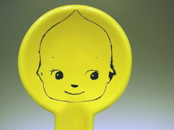 spoon rest kewpie cabeza - Made to Order / Pick Your Colour