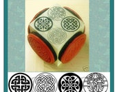 Celtic Round Knot Set 4 Designs on One Cube #352