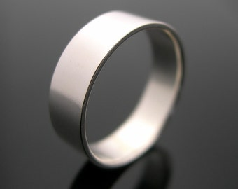 Silver Ring, Plain Ring, Sterling Silver Ring