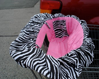 ZEBRA Deluxe Shopping Cart Cover