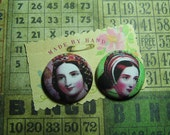 Fabulous Fabric Button Set