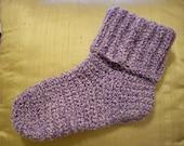 Crocheted Slipper Socks - Shipping Included