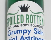 4 oz   ASTRINGENT Oily/Acne-Prone  AKA Grumpy Skin Toner -Natural and Vegan