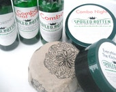 COMBO Skin Care Set for Combination Skin -Dry with an Oily T-Zone -100 Percent Natural and Vegan, Organic Ingredients