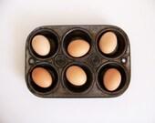 Muffin Tin or Cupcake Pan with 6 Cups