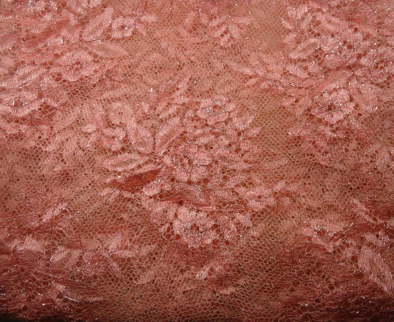Fabric piece - lightweight lace - 5 X 8 INCHES (13 cm x 20 cm) - available in 3 colors