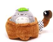 My Neighbor Totoro Doll Bathing Totoro in Japanese Bathtub Toy 1988