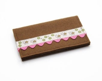 Wool Card Wallet, Sale Wallet, Business Card Case, Business Card Holder, Credit Card Holder, Credit Card Wallet, Cute Kawaii Wallet