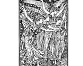 The Angels unmounted Christmas rubber stamp No.13