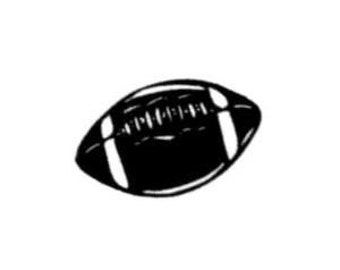 FOOTBALL unmounted rubber stamp No.14