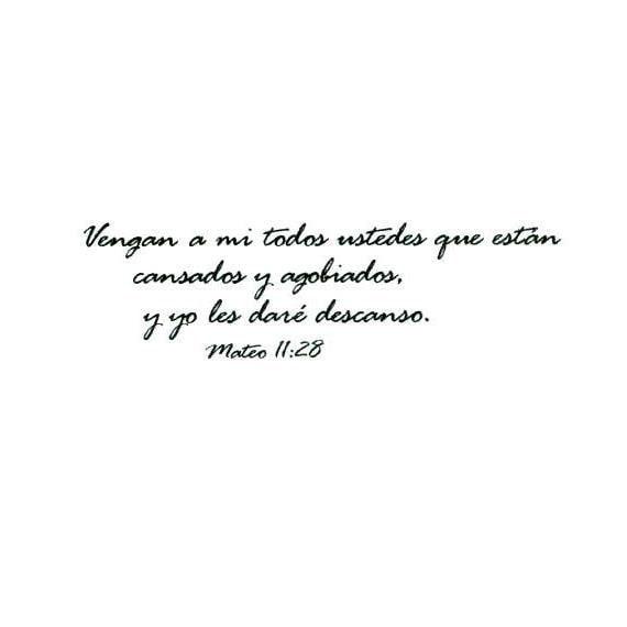 matthew 11 28 in spanish unmounted bible verse rubber stamp