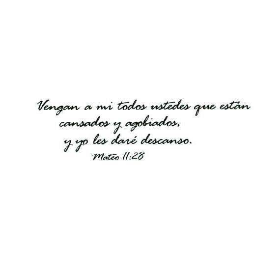 Marriage Quotes Spanish: MATTHEW 11:28 In Spanish UNMOUNTED Bible Verse Rubber Stamp