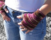 CUSTOM PAIR of Fingerless Mitts--Made to Order