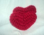 Set of 2 Crochet Hearts - On Sale