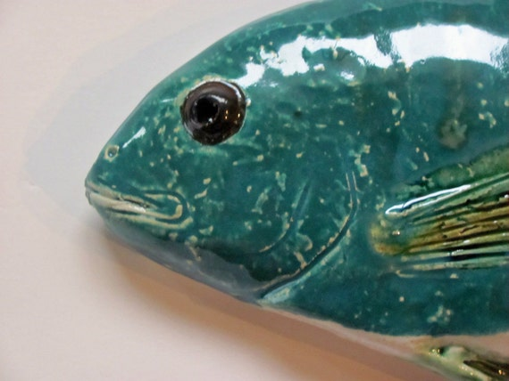 Dorado Royale Ceramic fish art decorative wall hanging