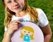 Custom Kidlet Plate - Personalized Melamine Plate