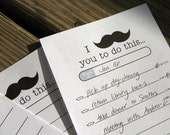 Mustache To Do Printable List by BitsyCreations