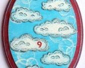 Cloud 9  Wall Plaque