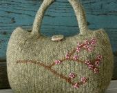 PDF PATTERN - Little Cherry Blossoms Bag