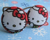 Red Hat Hello Kitty - 2 ponytail holders