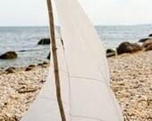eastern long island driftwood sailboat