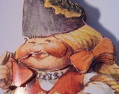 Mama Gnome with Caterpillar Matted Print