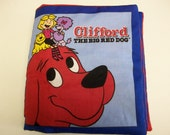Clifford the Big Red Dog Soft Fabric Baby Book