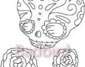 PDF Day of the Dead Embroidery Patterns