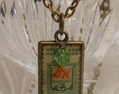 S and H Green Stamp necklace