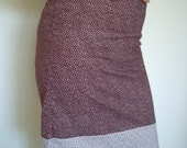 Two toned purple skirt size 6-8