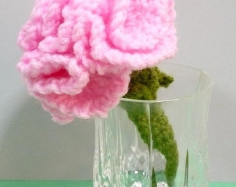 Flower Crochet Pattern Carnations Crochet Pattern PDF Instant Download Flowers for Mother's Day