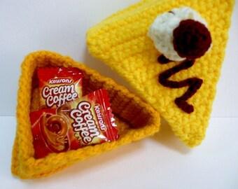 Organiser Crochet Pattern Holder Crochet Pattern PDF Instant Download Functional Mango Cake Holder