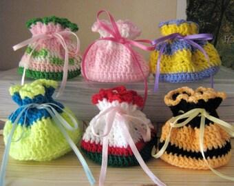 Pouch Crochet Pattern Mini Pouches Small Bag Crochet Pattern PDF Instant Download