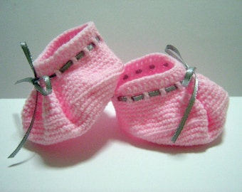 Baby Bootees Crochet Pattern Children Shoes Crochet Pattern PDF Instant Download Baby Booties 0-3 mths