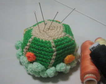 Crochet Plant Pattern Cactus Crochet Pattern PDF Instant Download A Tapestry-Crocheted Cactus (pincushion/paperweight)